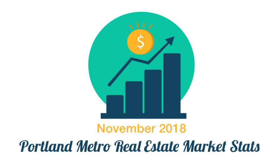 Portland Real Estate Market Statistics - November 2018